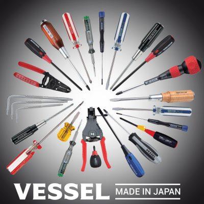 Các loại tô vít chính của Vessel