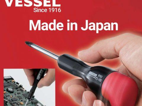 Thương hiệu Tuốc nơ vít Vessel Nhật Bản