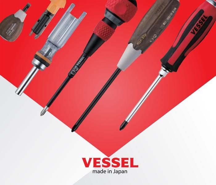 Dòng sản phẩm tô vít Vessel đa dạng về chủng loại