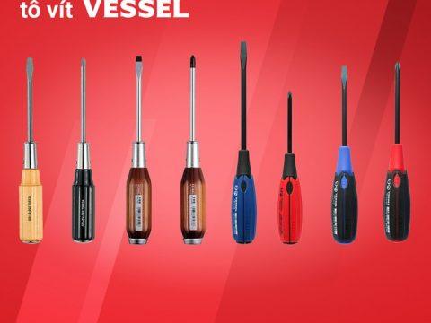Sự đa dạng của các dòng tô vít Vessel