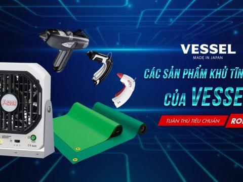 Các sản phẩm khử tĩnh điện của Vessel